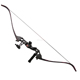 Wholesale archery equipment recurve bow and Aluminum riser bow for hunting shooting set