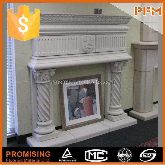 Luxury Chinese customized fireplace electric fireplace heaters lowes for house & villa design and project