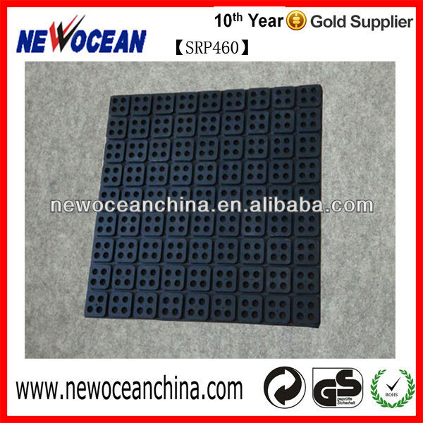 Anti slip floor mat rubber product
