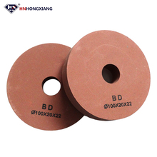 Rubber bond 10S glass grinding bk bd polishing wheel