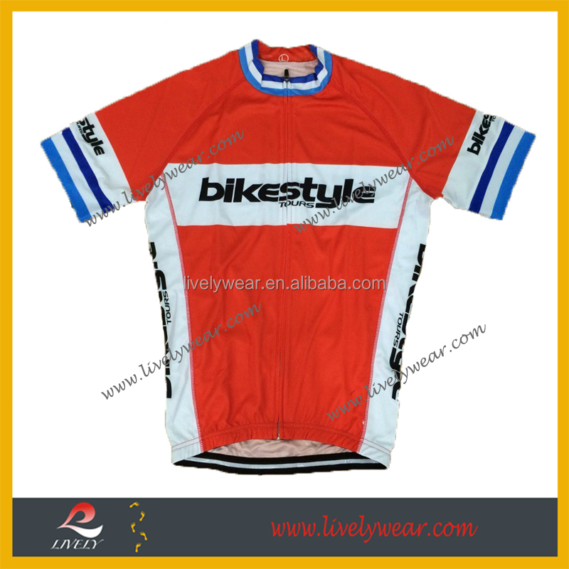 Livelywear--Specialized Sublimation OEM athletic Bike/Cycling garment, Wearing For Sports