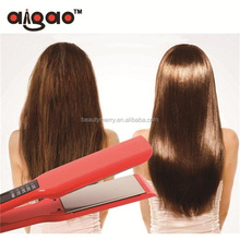 Top Selling Wide Plate LCD Digital Hair Straightener Flat iron 450 Degrees Flat Iron for Both Salon and Home