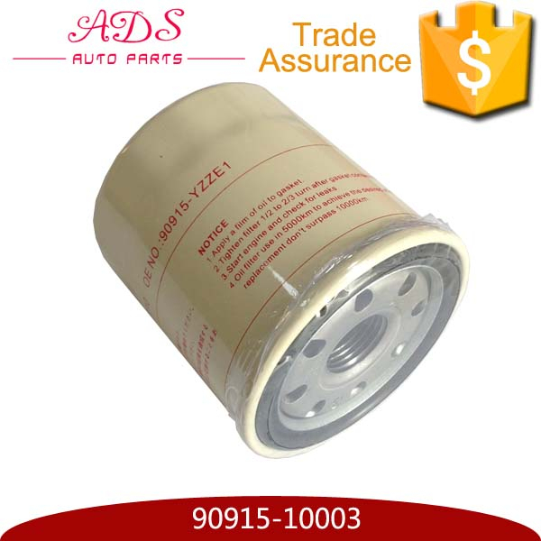 top quality oem 90915-YZZC5 For toyota car oil filter for toyota prius