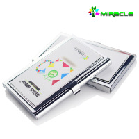 New Arrival Sublimation Blank Name Card Holder,Business Card holder