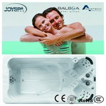 2014 USA Acrylic Material Massage Bathtub CE Certification Available Pop-up LCD TV Outdoor Hot Tub JY8603