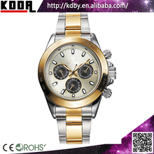 Roles Watches Men Gold Luxury Brand Swisss Movement 18k Gold Stainless steel Mess Band King Quartz Mens Watches