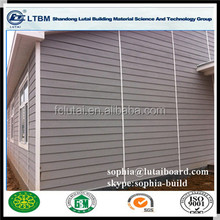 Wood Grain Board With EU Standard And Good Weather Resistence