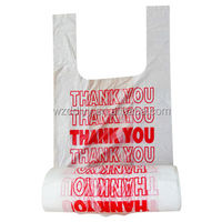 disposable garment bags/plastic t-shirt bag wholesale