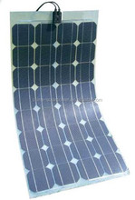 China laminate High Efficiency 100W Flexible Solar Panel
