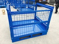 Wholesale Steel Stackable Wire Mesh Storage Container Box