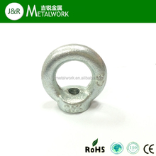 Grade4.8 Zinc Plated Round Head Lifting Eye Nut DIN582