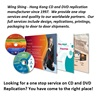 Since 1977 Hong Kong manufacturer one stop service full color offset printing 12cm CD DVD replication