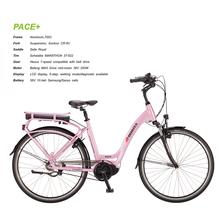 Pace+ High Power Electric Bike Hot Selling Pink Lady Bicycles Bike for Sale