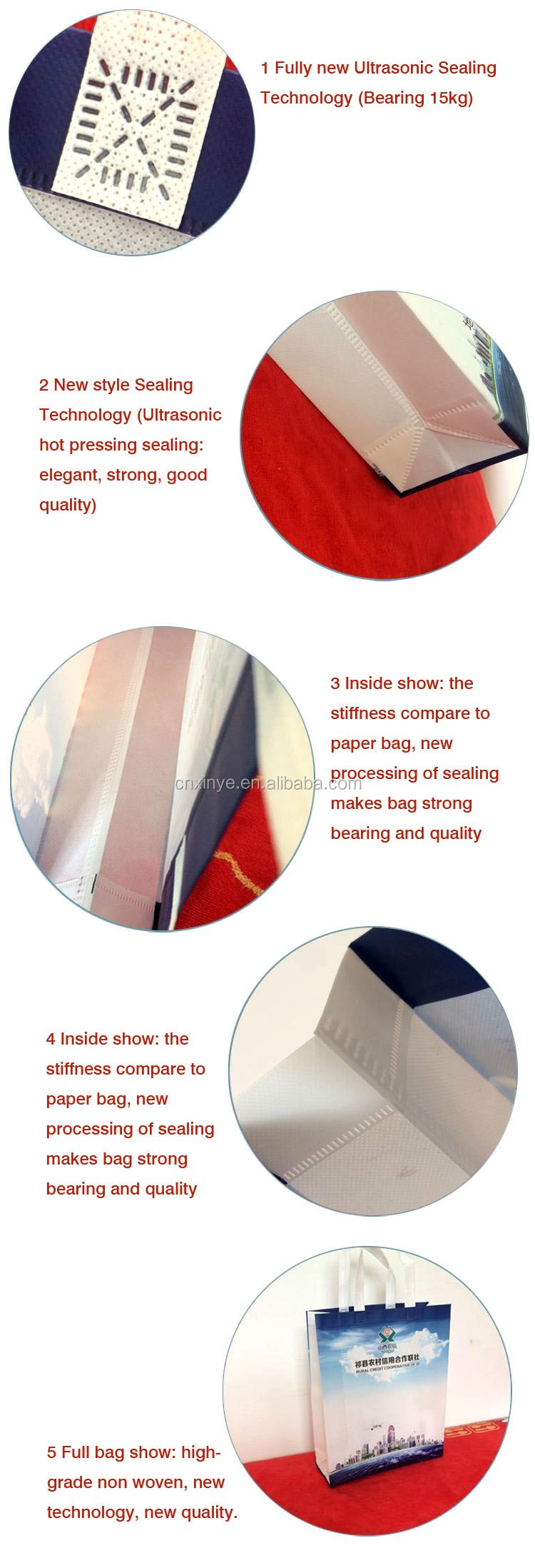 XINYE Laminated non woven fabric bag making machine non woven bag machine price