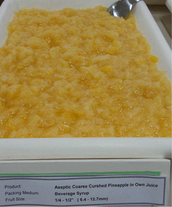 Pineapple Coarse Crushed in Aseptic Packing