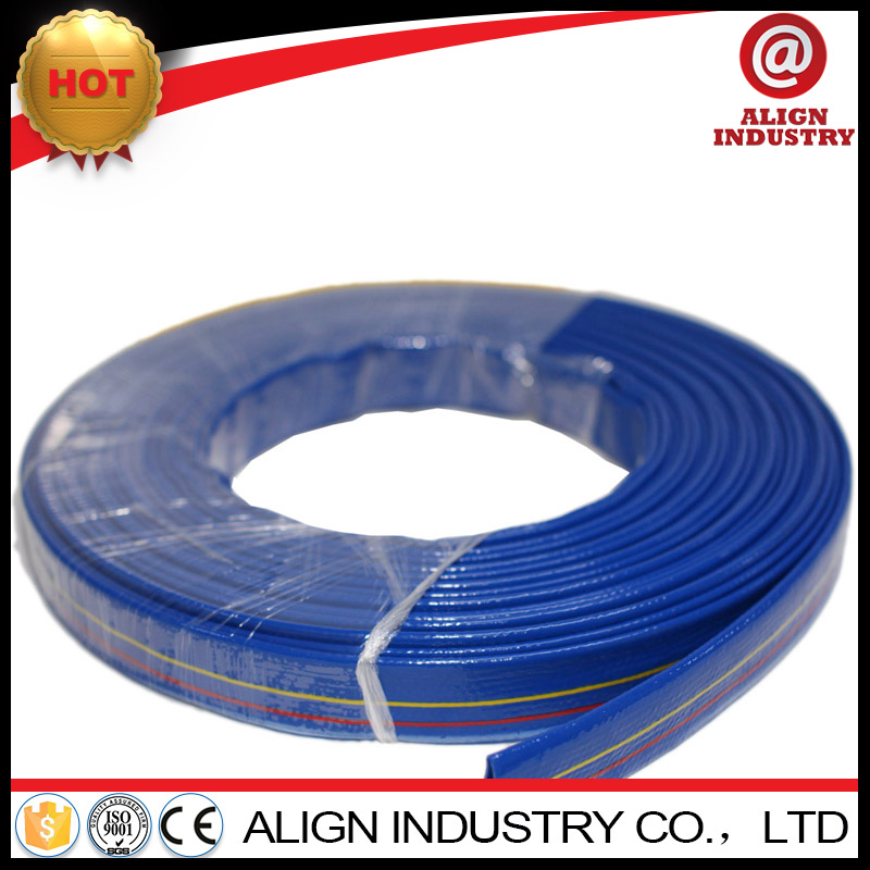 Hot selling fuel oil resistant nitrile rubber hose non-toxic pvc coated lay flat hose