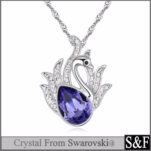 2017 Crystal Necklace <strong>Jewelry</strong> Made With Crystal from Swarovski