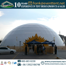 Top selling large dome tent aluminum frame, PVC fabric covers for geodesic dome