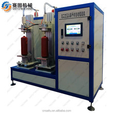 SAITU COMPANY dry powder filling machine / powder fire extinguisher production line