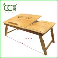 Alibaba Wholesale Portable Laptop Desk/Table Classical Bamboo Foldable Laptop Desk