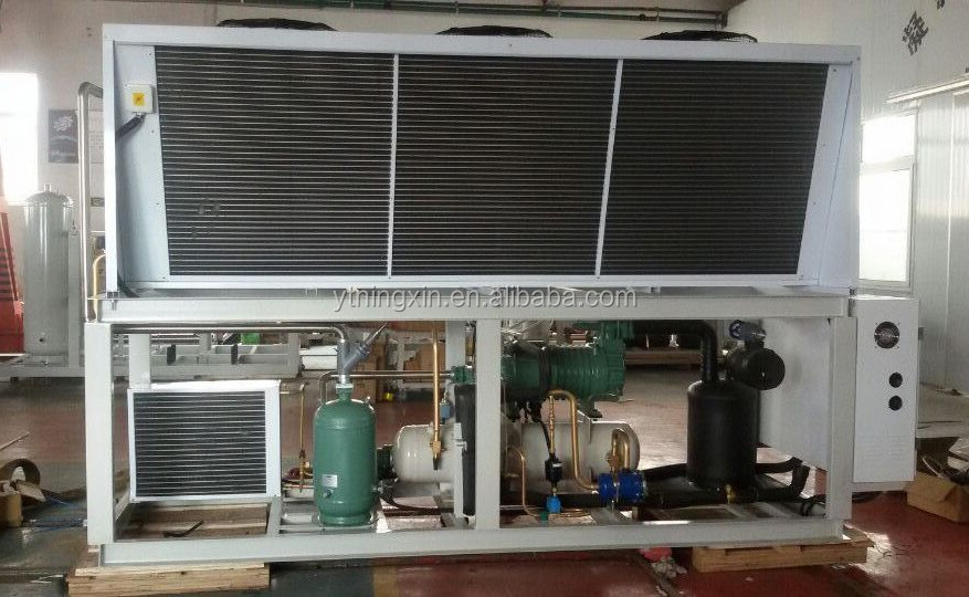 V Type Condenser Unit with Bitzer,Hanbell,Copeland compressor