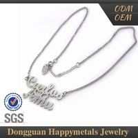 Samples Are Available Various Design Stainless Steel Nepal Necklace Jewelry
