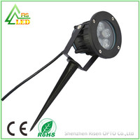 Power led park lighting 220V solar rgb lawn lamp