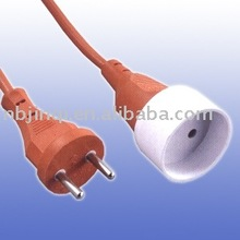 Euro vde power cord with plug