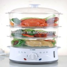 PROMOTION 3 trays electronical food steamer cooker