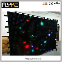 high-end products led cloth curtain new 2014 product ideas