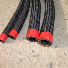 Best sale 1ft Stainless Steel Braided 1500 PSI Oil Fuel Gas Hose Line -4AN AN6 8-AN 10-AN Hose