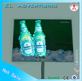 Decorative light advertisement el flashing panel electroluminescent sheet poster