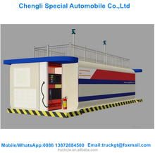 30 CBM mobile container skid-mounted refueling device for Gas station/road/factories / remote areas