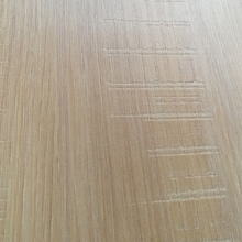 Stainless steel hot press plate for decorative plywood