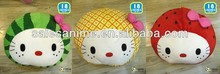 Wholesale High Quality Anime Cute Cartoon Soft Warm Hello Kitty Pillow Cushion