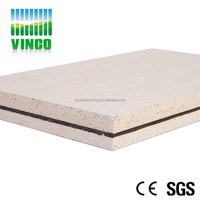 Sound Barrier Decorative Materials Magnesium Oxide Wall Board
