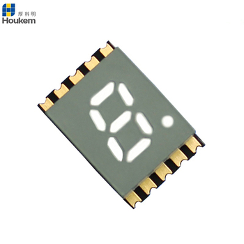 0.2 inch 7 segment led smd display 1 digit red led 7 segment smd led display