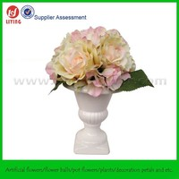 36CM Wedding Table Flower Centerpiece And Flower Stand,Decorative Artificial Flower Table Centerpiece