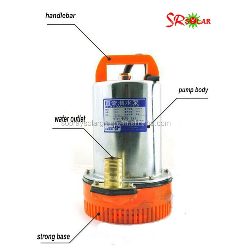 1hp to 20hp solar submersible water pump 12v 24v