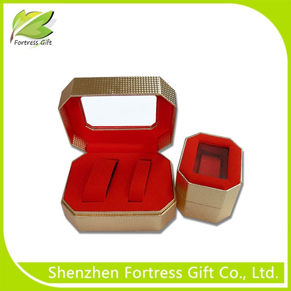 Cheap Lovers Paper Watch Box with Clear Window