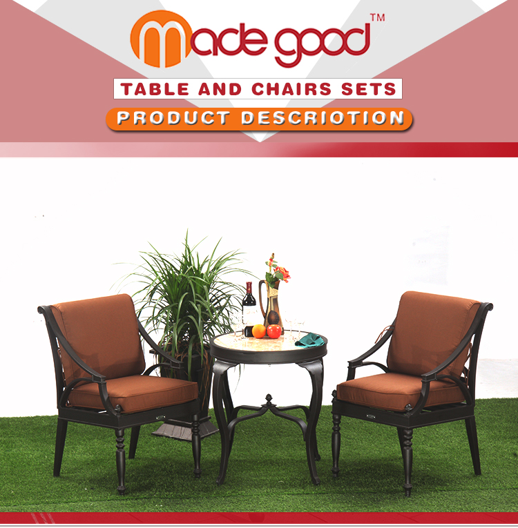 HOT DIP outdoor party tables and chairs BK-081D