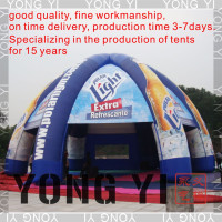 14X14M/inflatable tent/inflatable dome tent/inflatable outdoor tent