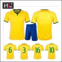Hotsale honest dealer football jerseys made in thailand with hign quality