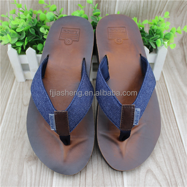 New model men style pu slippers