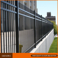 Shengwei fence - Hot galvanised steel metal yard fence panels for fences