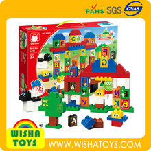 High Quality ABS toy bricks set animal toy building blocks compatible to Duplo