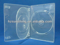 14mm Clear 3 Discs Adult Sleeves DVD Case