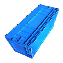 Sturdy vegetables folding plastic crates box plastic fruit packing crates for sale