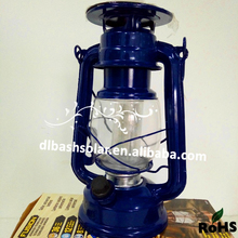 Brightness Metal Hurricane lantern solar power old oil LED lantern decorative hang light
