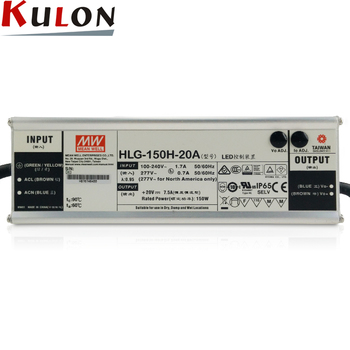 Mean Well LED Driver HLG-150H-24A 12V 15V 24V 48V 3 in 1 Dimming LED Driver
